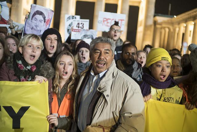 Amnesty-Jugend und Abel Barrera